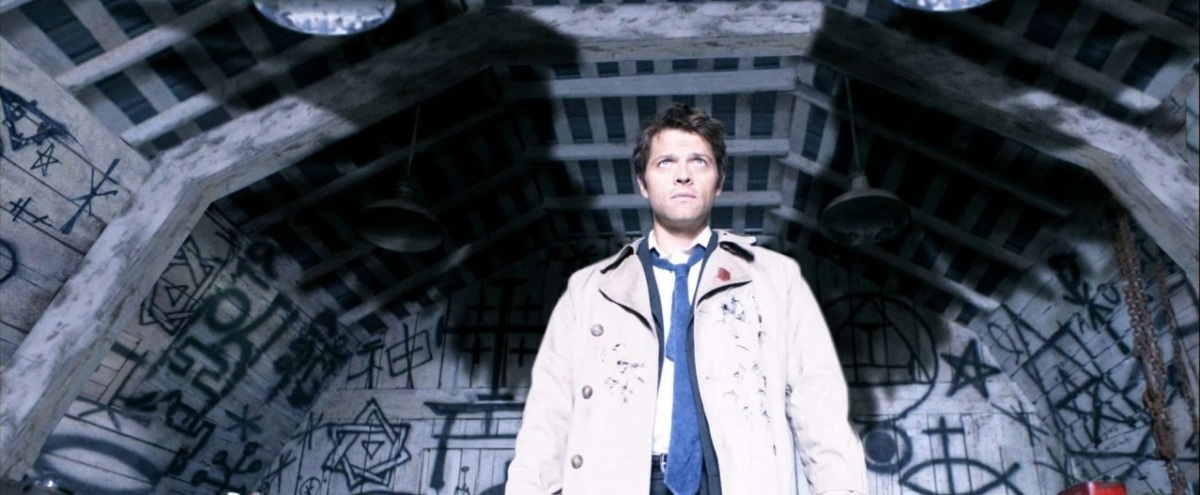 Fandom Workout Outfit Inspiration: Castiel from Supernatural