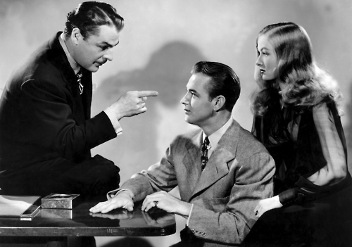 THE GLASS KEY, Brian Donlevy, Alan Ladd, Veronica Lake, 1942